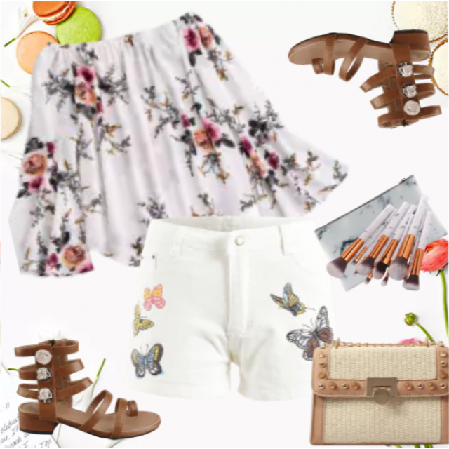 So pretty summer outifit! Love it!
