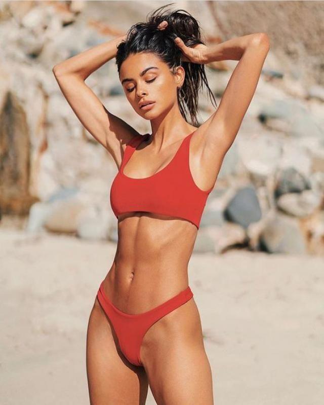 Padding Bikini Set Red,,,,  set