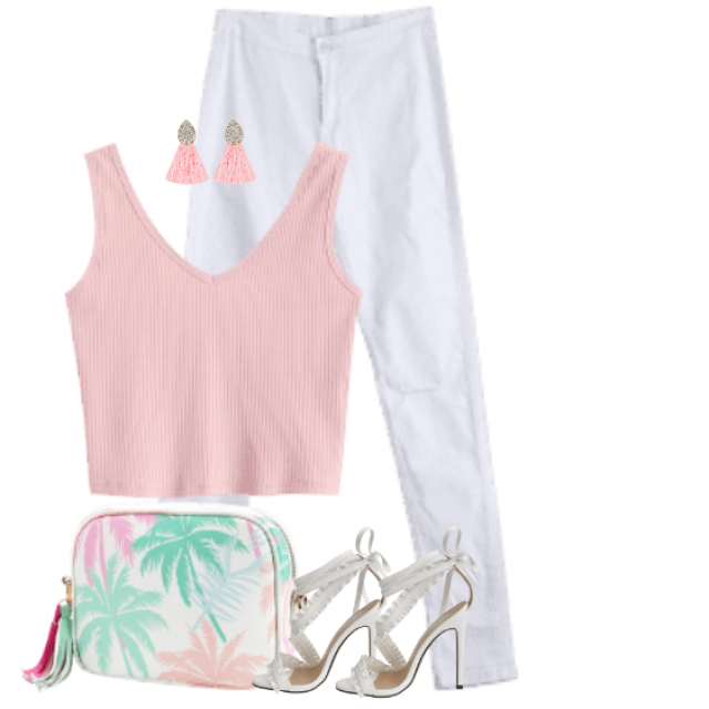 Casual summerstyle - perfect for a summerday