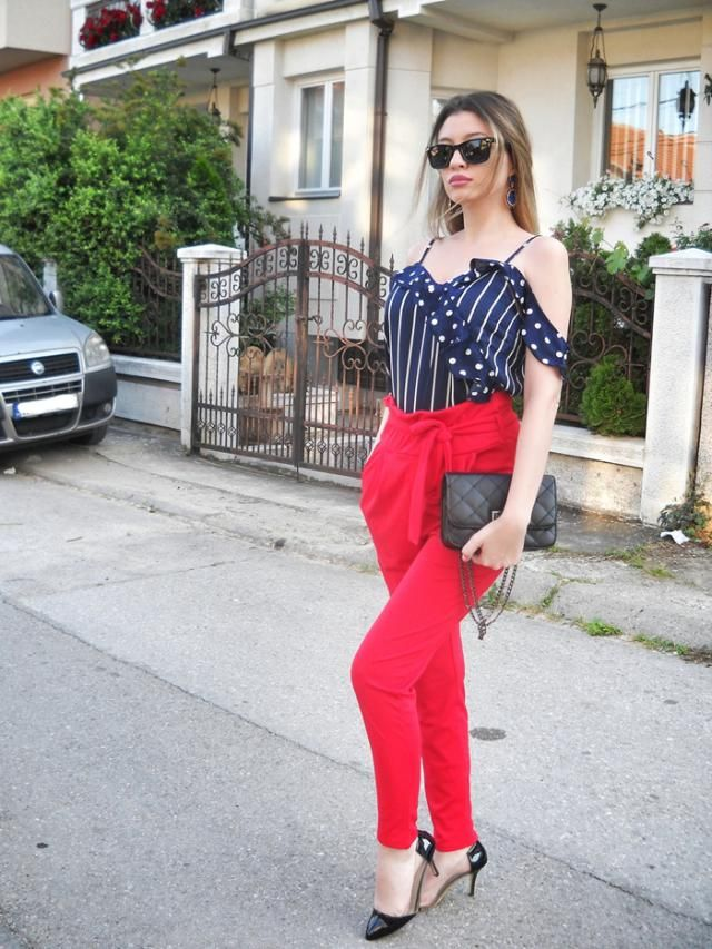 Blouse and pants from  My blog http://itsmetijana.blogspot.com/