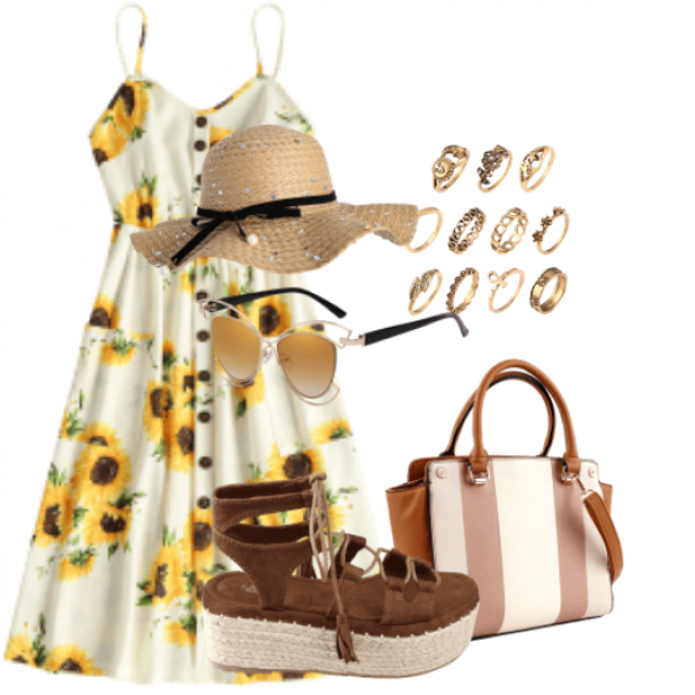 Beautiful dress for summer events