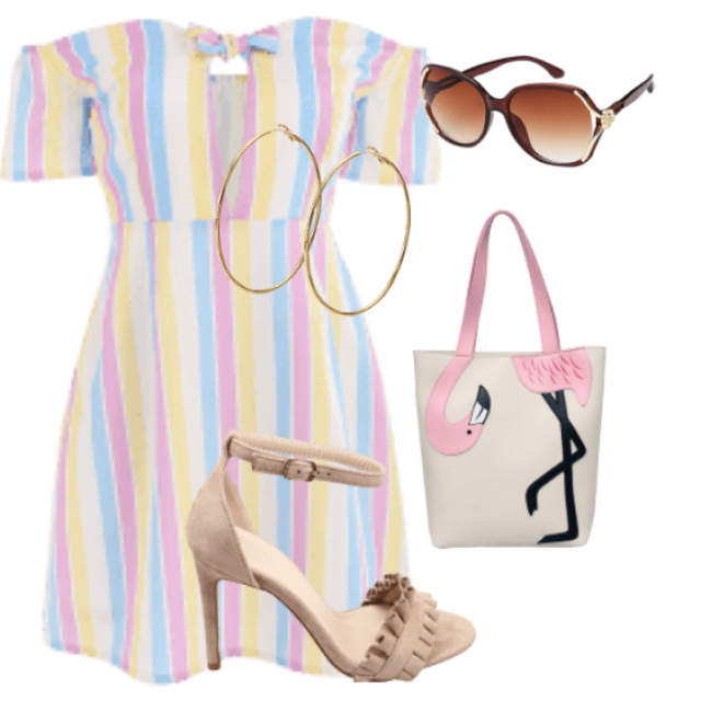 Cute mini dress ..perfect for your vacay