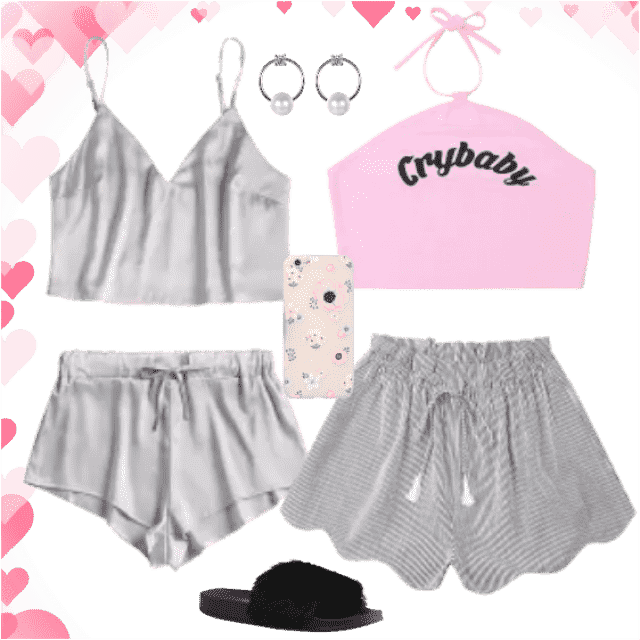 Comfortable sets for sleepy gals