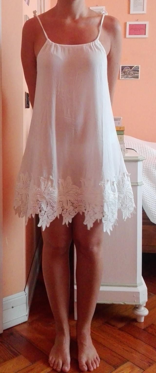 Nice but short and really transparent, I would wear it only at the beach <BR>I am 163 cm, 56 Kg and I got a small…