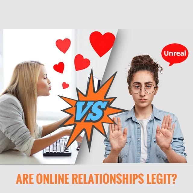 Are online relationships legit? What do you think? Let us know in the comment!