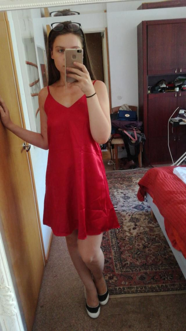 It can be used as both a dress and a sleeping gown, or even just when your boyfriend comes over and you wanna wear som…