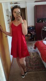 a24fbcf114a3 33% OFF   HOT  2019 Cami Mini Summer Dress In DEEP RED