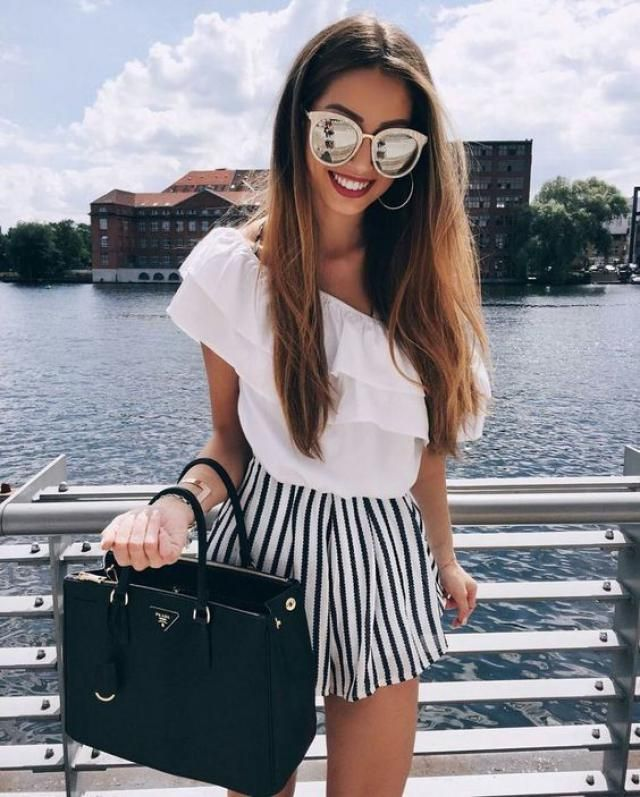 This is a summer chic look that I'm obsessed with