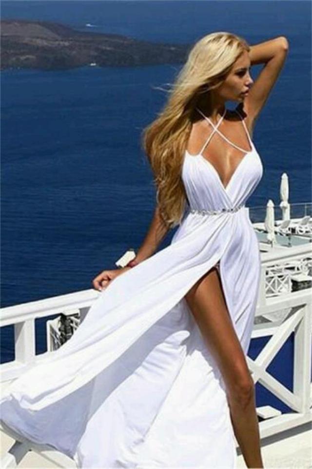Summer Sexy White Dress !!!