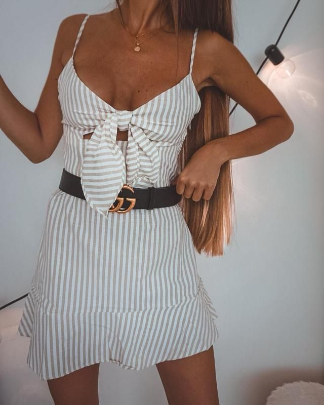 Dresses are a summer key piece, you don't need much to look cute on them plus they are so comfy and keep you cool