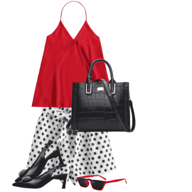 Beautiful and chic style for a hot summerday