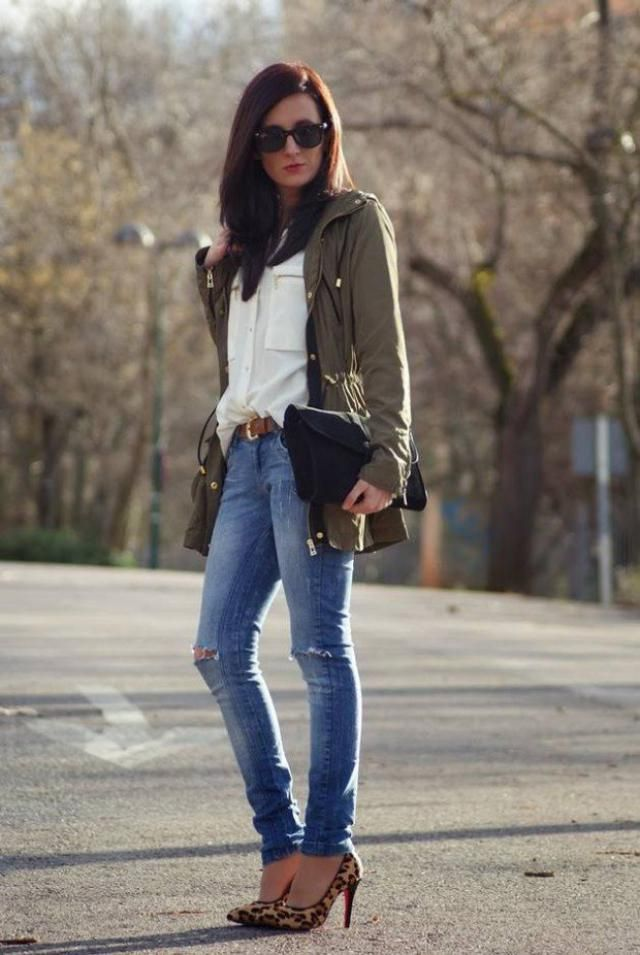 Jeans Pants And White Shirt-Perfect casual look