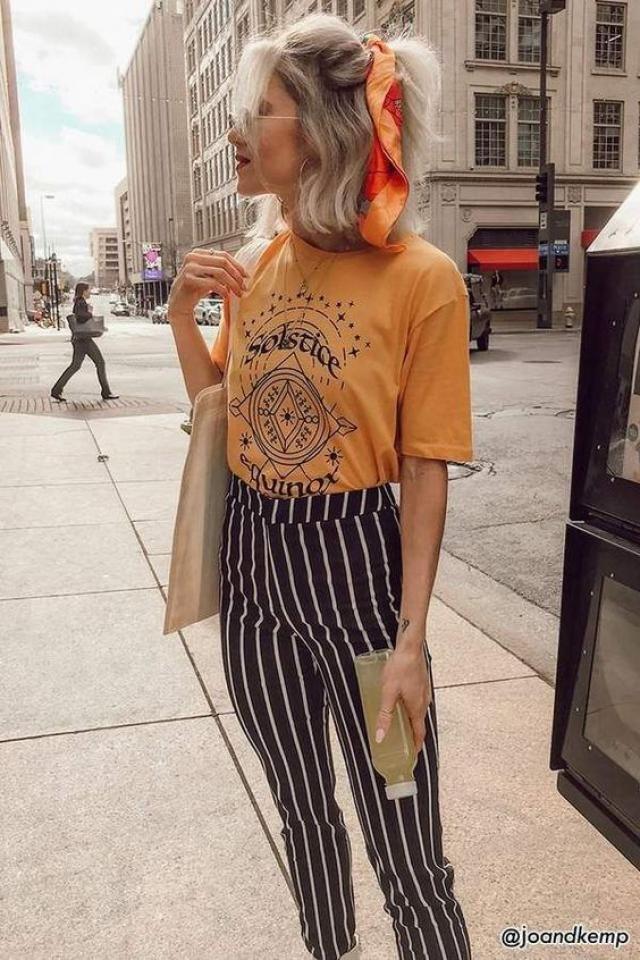 Stripe pants!!