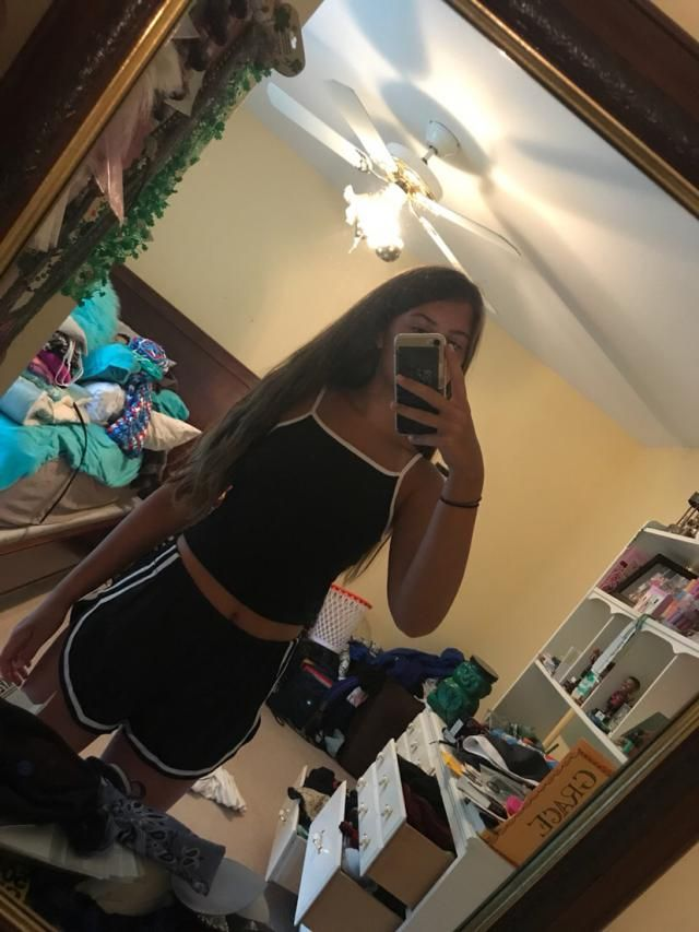 Super cute Love it Looks exaclty like the pictures  True to size Comfortable and of fantastic material the shorts cut …