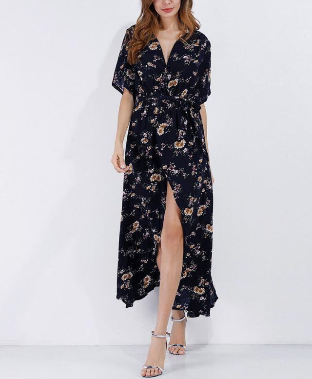 Nice dress with floralprint in Zaful
