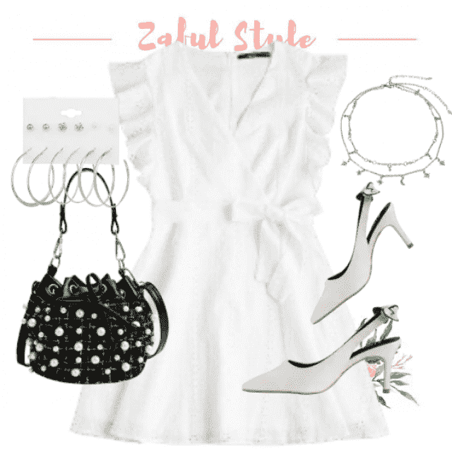 White dress for various occasions