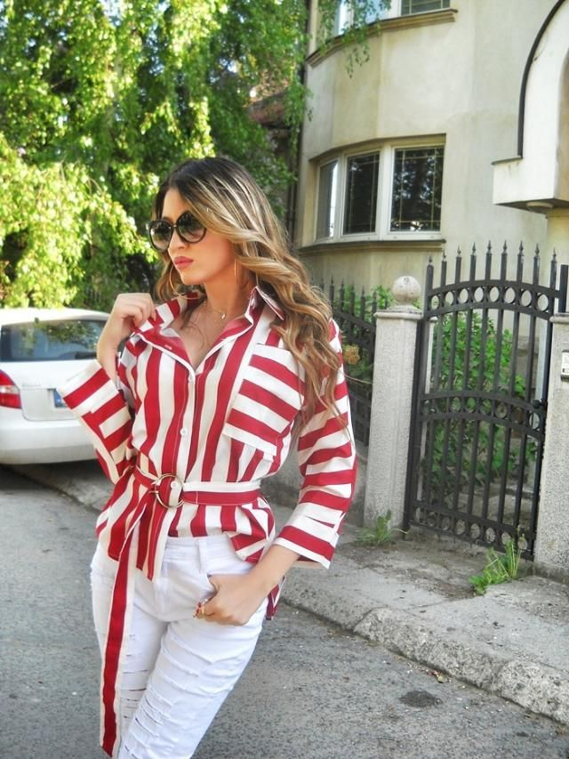 Stripes :)  shirt :)