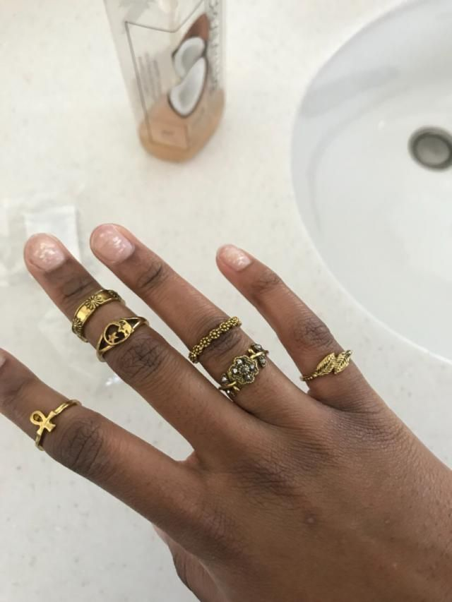 love these! the designs are so cute! like other reviews say some are def meant to be midi rings but others fit perfect…