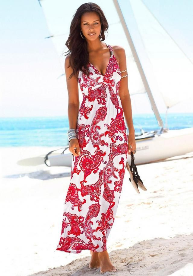 Print Boho Cami Long Dress