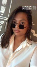 7d1d4e65833c 12% OFF  2019 Vintage Square Shape Full Frame Sunglasses In DOUBLE ...