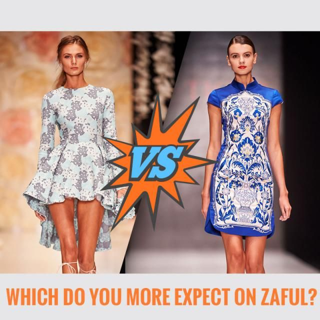 ☺ Which do you more expect on Zaful? A. Oriental Element B. Western style Let us know your idea in the comment!  …