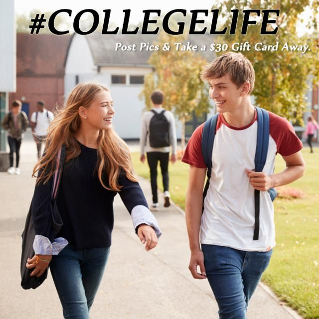 We all have colorful college lives.