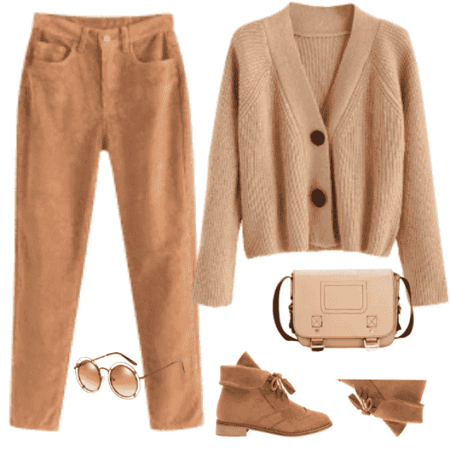 Such a simple style, but modern and gorgeous! Also - all things are in shades of Fall, soft brown, or dar…