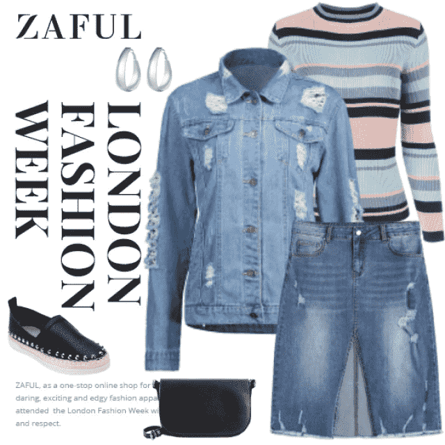 What to say about this picture? I think there's nothing to say. Denim is always modern, always here a…