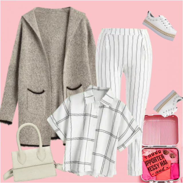 A practical combination of these pieces of clothes will give you the coziest traveling as you can imagin…