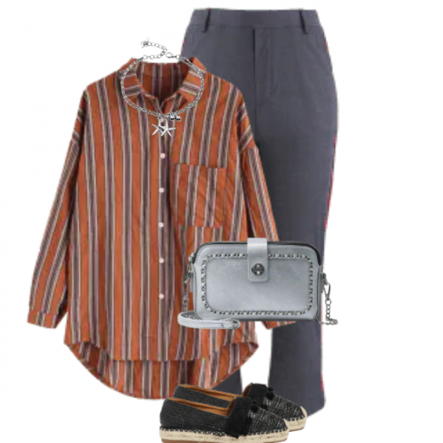 Casual style - perfect look for a shopping tour