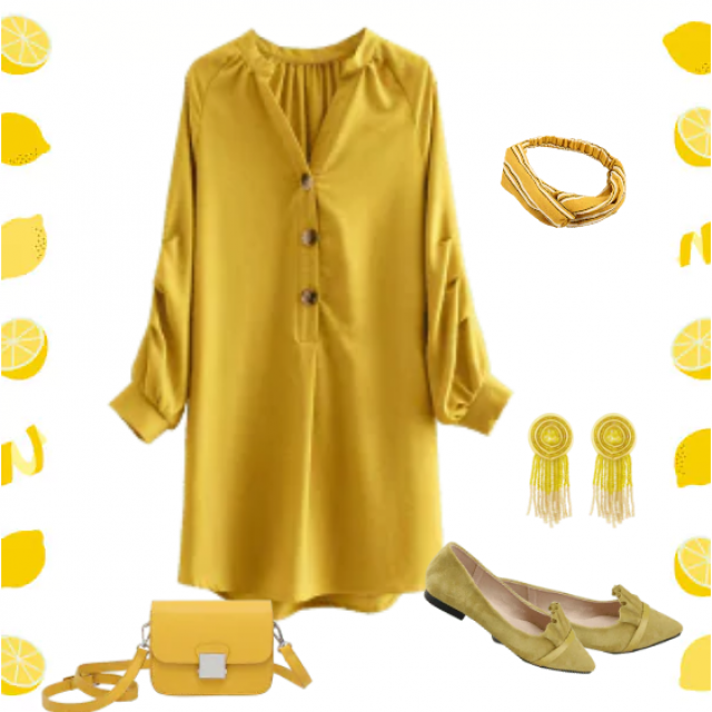 Very modern this season, yellow is everywhere. Since it's so bright and bold, it's the best that yo…