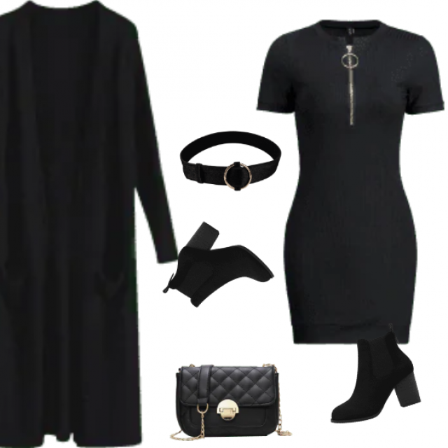 All black - always and forever! The best if you wanna - everything! If you don't know what to wear - the …