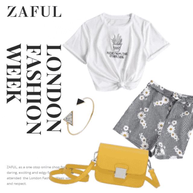 zafulstreetstyle  fab  zafullove  tops  shortsjellow   bags  zafultravel  flowers  white   cactus   white  falloutfits…