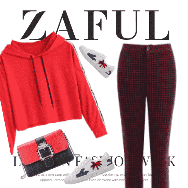 Zaful everyday red style! So cute and chic!