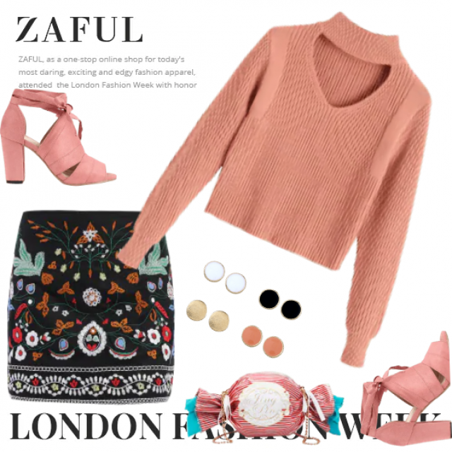 Stylish chic Zaful outfit! Perfect look in pastels!