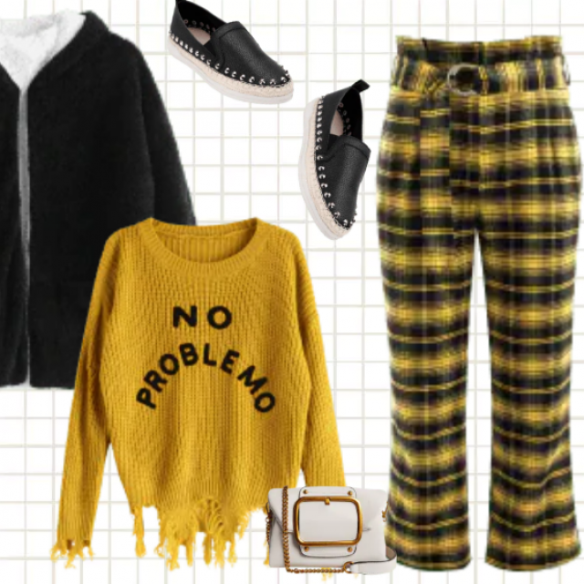 No Problemo - if you wear something like that :) Modern and retro in one! Ripped and gold also. You…