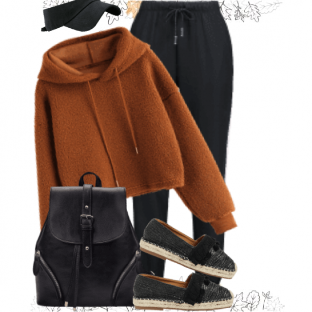 Sportive and casual streetstyle - perfect for an autumnday