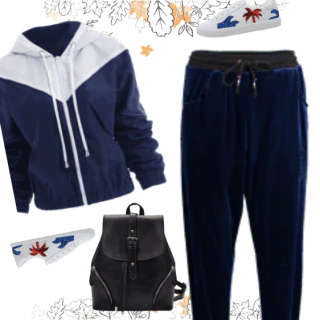 This casual outift is awesome, great fall look!