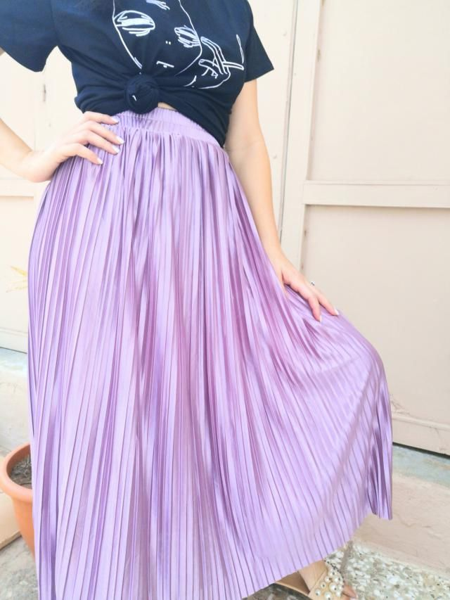 This is the most beautiful metallic skirt, you need to pick this for winter!!!