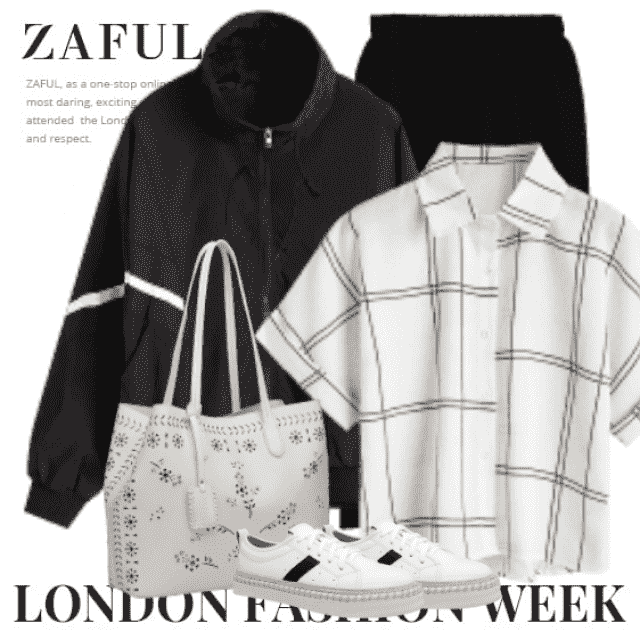 Cool casual outfit - perfect for a shopping day in the city
