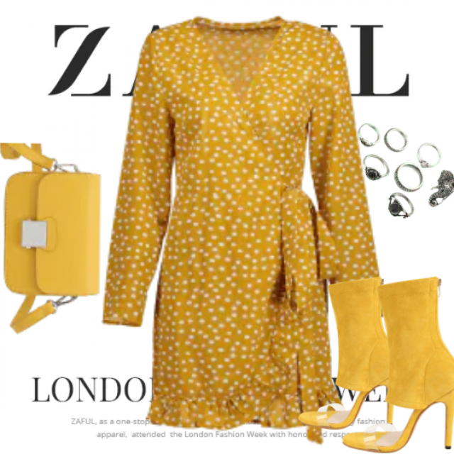 Fashion yellow evening only for womens with a style. Dress have amazing material and color. So stylish …