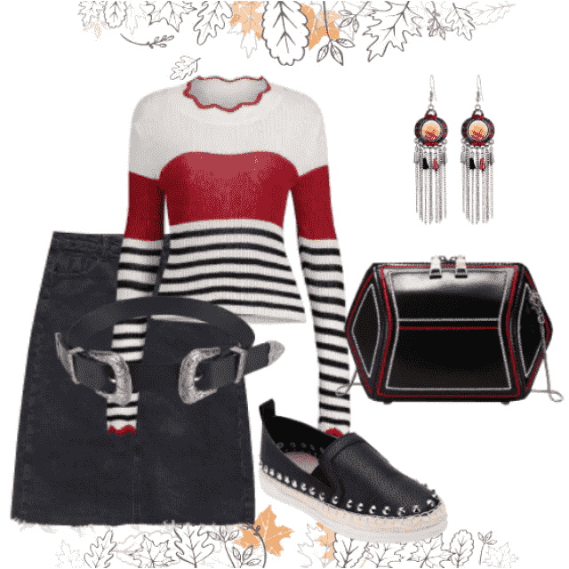 Casual trendy style