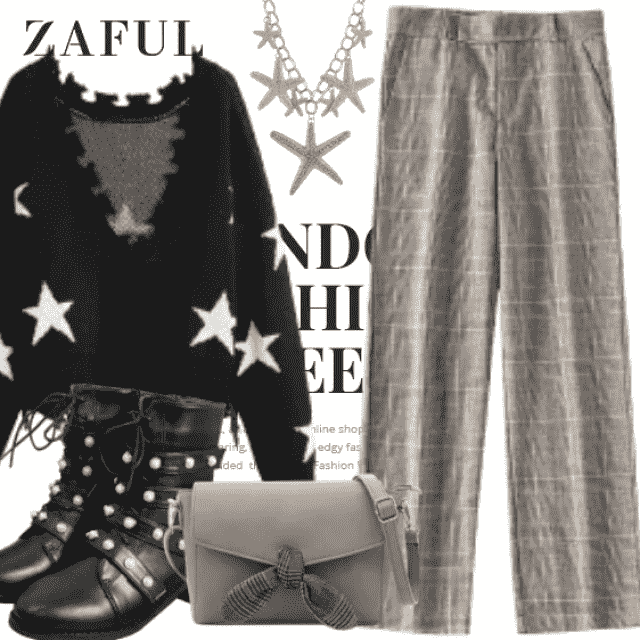 What to Wear?  Zaful have solution for you. This is a fashion outfit for girls who want to be different. So…