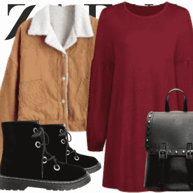 What to Wear?  Zaful have solution for you. This is a trendy college outfit for girls who want to be differ…