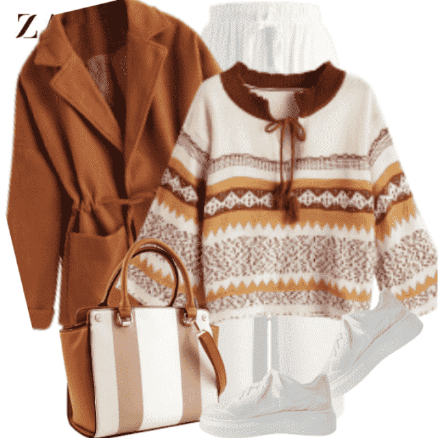 Gorgeous autumn style - fresh and light coloured