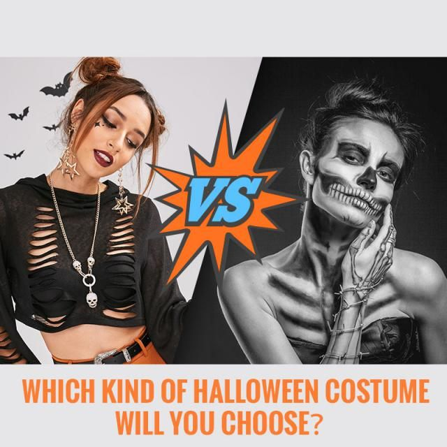 ☪ Which kind of Halloween Costume will you choose?✙