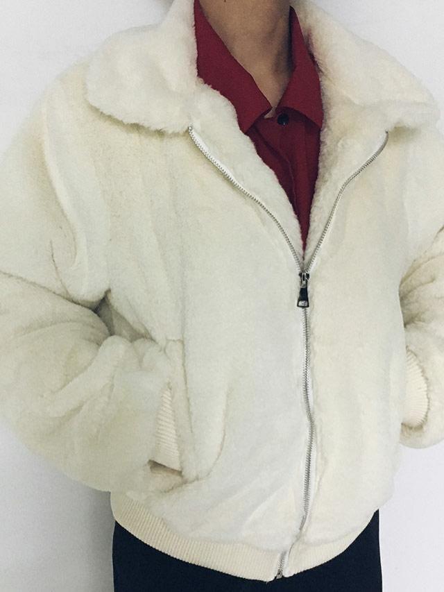 like all fluffy coats!!  no reason
