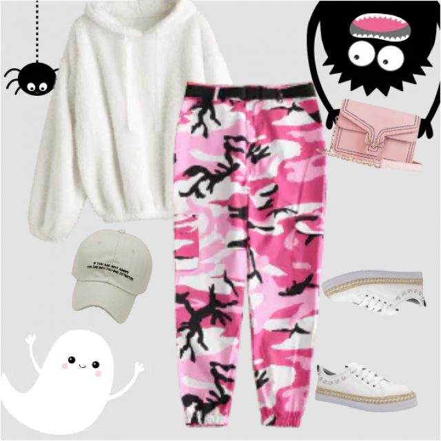 Really pretty and cool look with this pieces of clothes! Sports casual. Perfect for a daily wear, es…