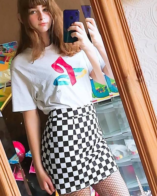 Still loving the skirt !