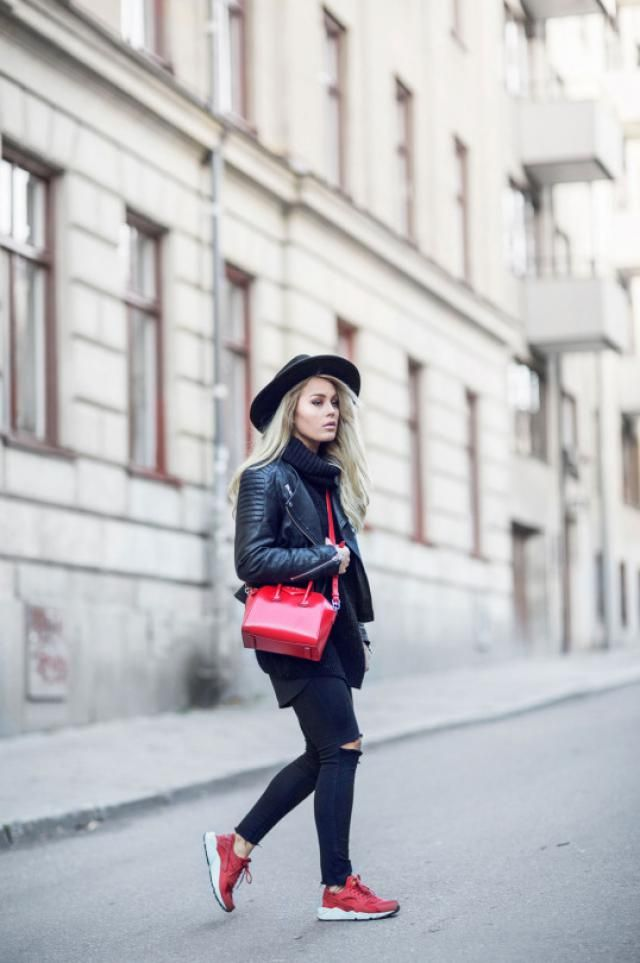 Black Jeans And Jacket